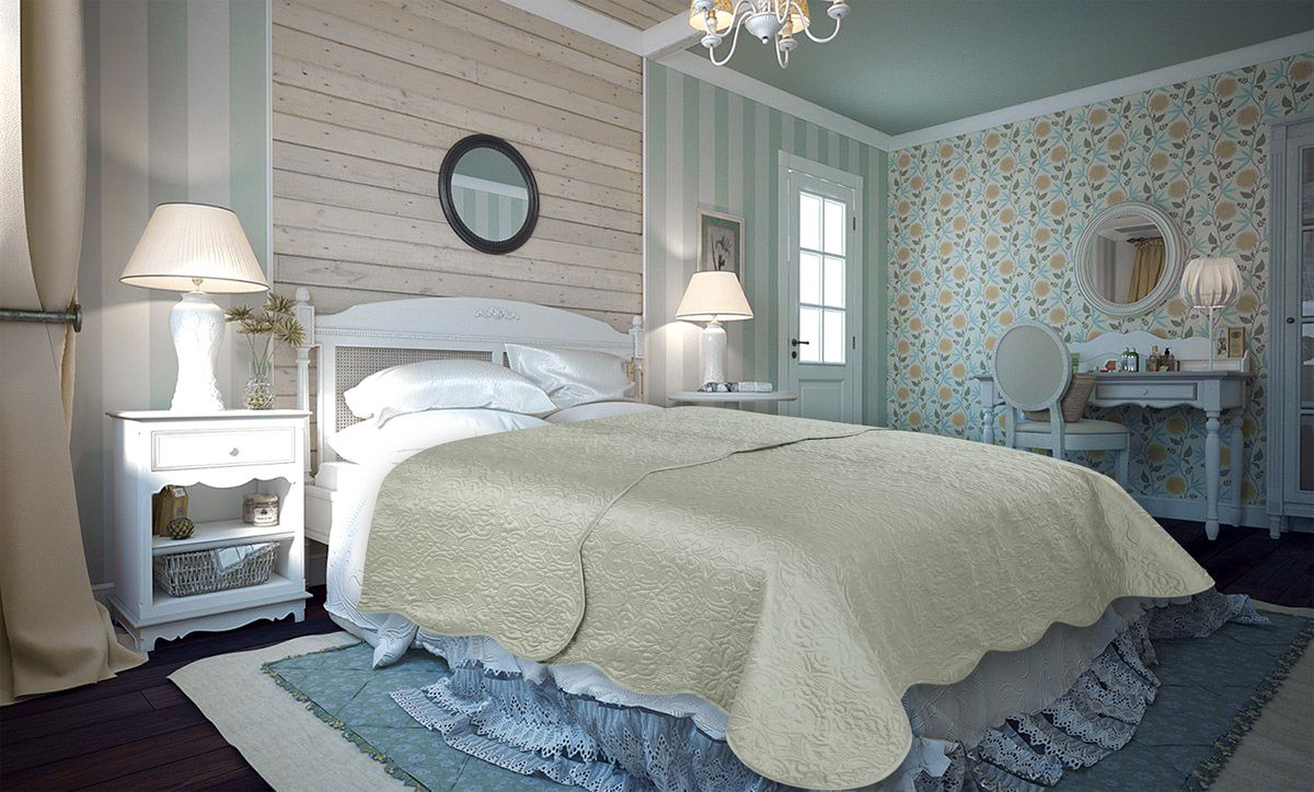 Покрывало Amore Mio Trire, цвет: серый, 220 х 240 см86136Покрывало Amore Mio Atlas - легкое и современное придаст вашей спальне элегантности, спокойствия и уюта. Роскошь и утонченный вкус.