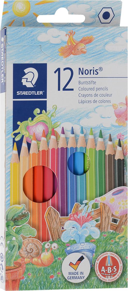 Staedtler Набор цветных карандашей Noris Club 12 шт144NC12Набор цветных карандашей Staedtler шестигранной формы для удобного и легкого письма. Содержит 12 цветов. Очень мягкий и яркий грифель. При производстве используется древесина сертифицированных и специально подготовленных лесов. Широкий выбор возможностей для рисования.Уважаемые клиенты! Обращаем ваше внимание на то, что упаковка может иметь несколько видов дизайна. Поставка осуществляется в зависимости от наличия на складе.