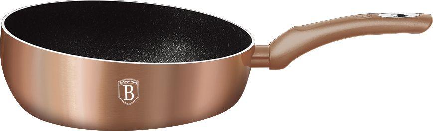 Сковорода Berlinger Haus  Rosegold Line , диаметр 26 см. 1522N-BH - Посуда для приготовления