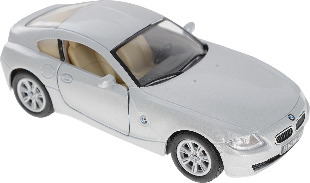 Kinsmart Модель автомобиля BMW Z4 Coupe цвет серебристый журнал моделей а1 мужские пиджаки авторские модели пароль для заказа лекал 5 выкроек
