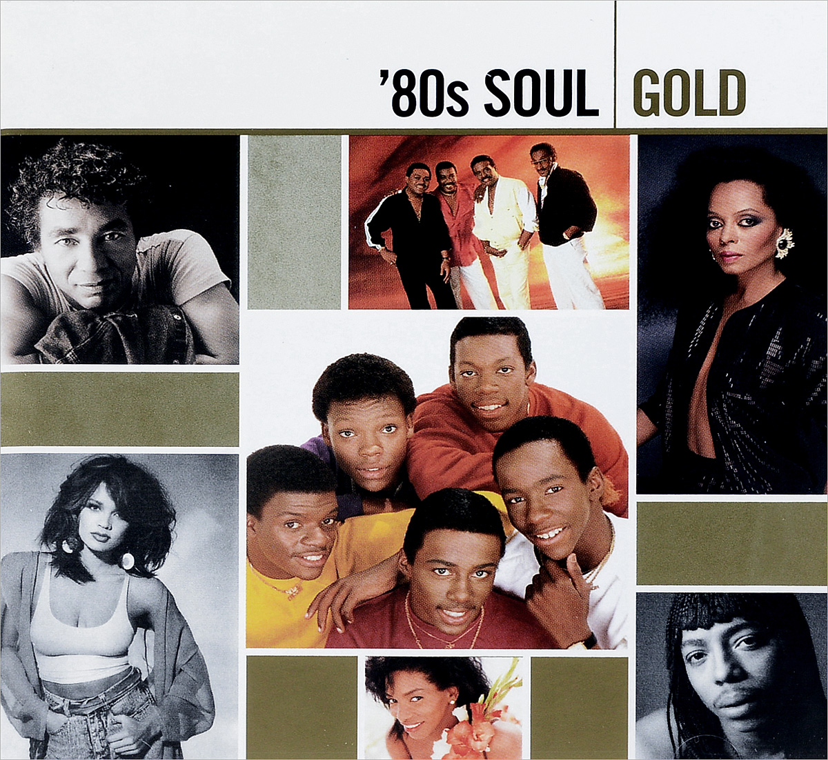 80s Soul. Gold (2 CD) 80s pop 3 cd