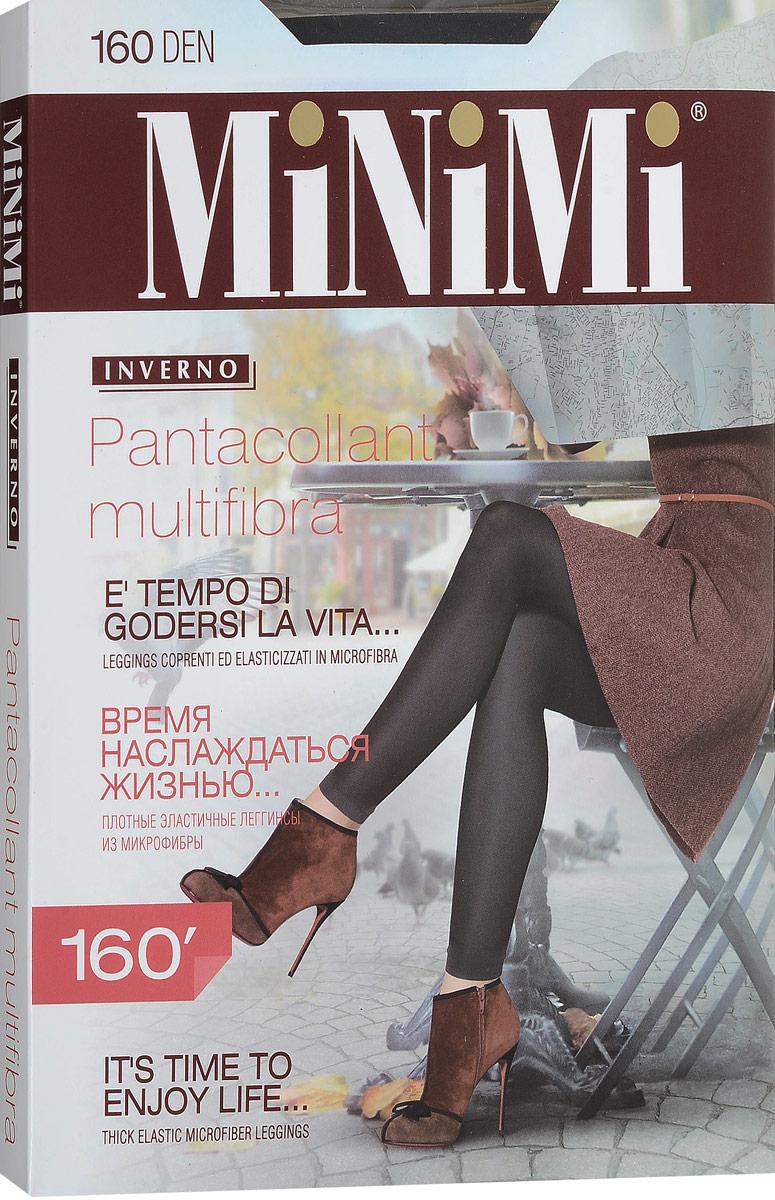 Леггинсы жен Minimi Pantacollant Multifibra 160, цвет: Nero (черный). SNL-377336. Размер 4/5 (L/XL)SNL-377336