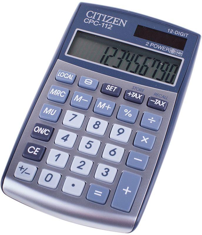 Citizen Карманный калькулятор CPC-112WB