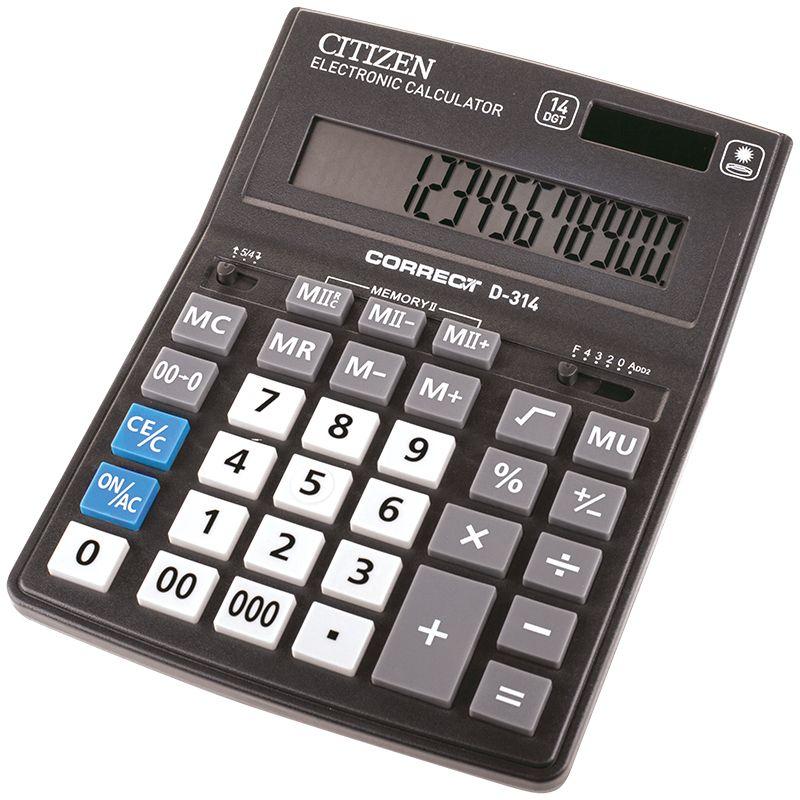 Citizen Настольный калькулятор D-314 -  Калькуляторы