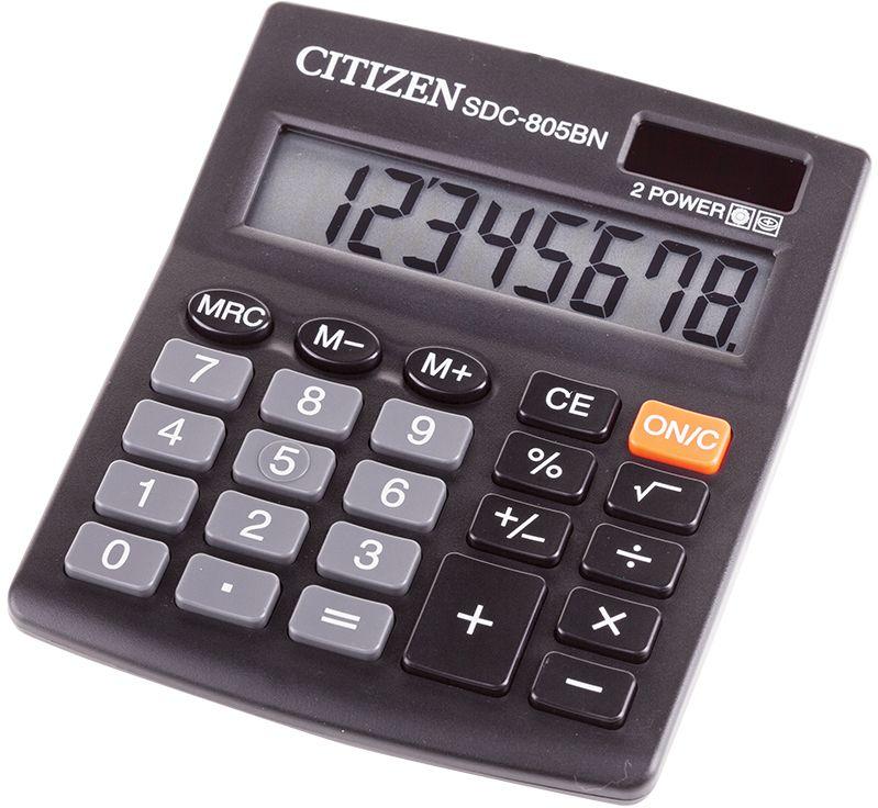 Citizen Настольный калькулятор SDC-805BN клавиши купить
