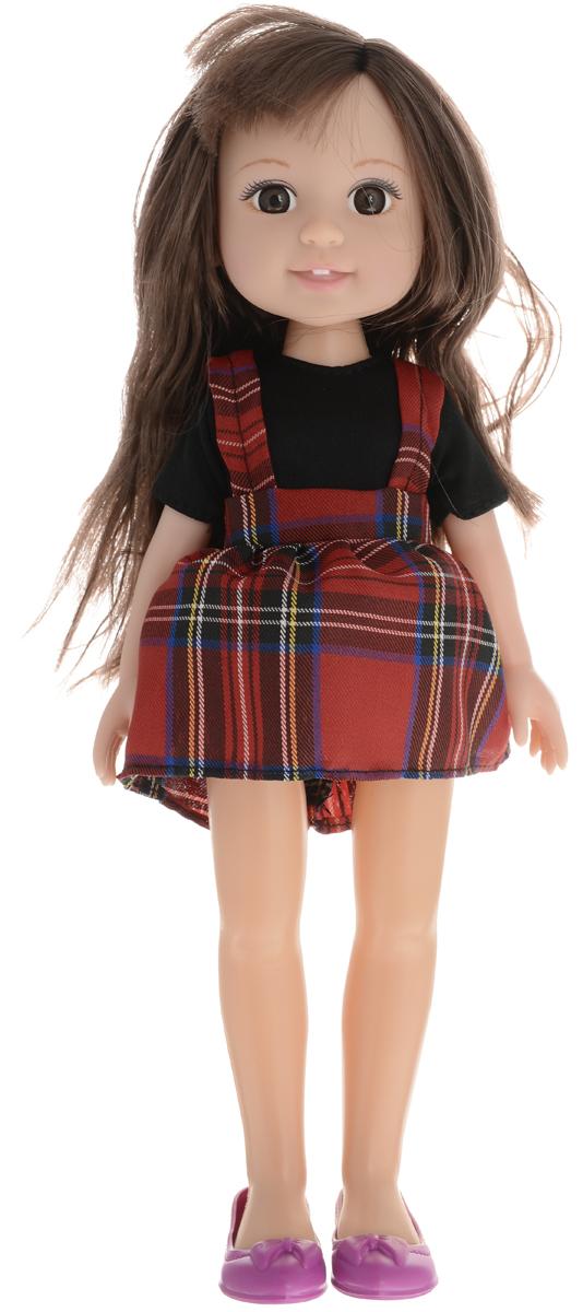 Yako Кукла Jammy брюнетка цвет одежды черный темно-красный кукла yako кукла jammy m6306