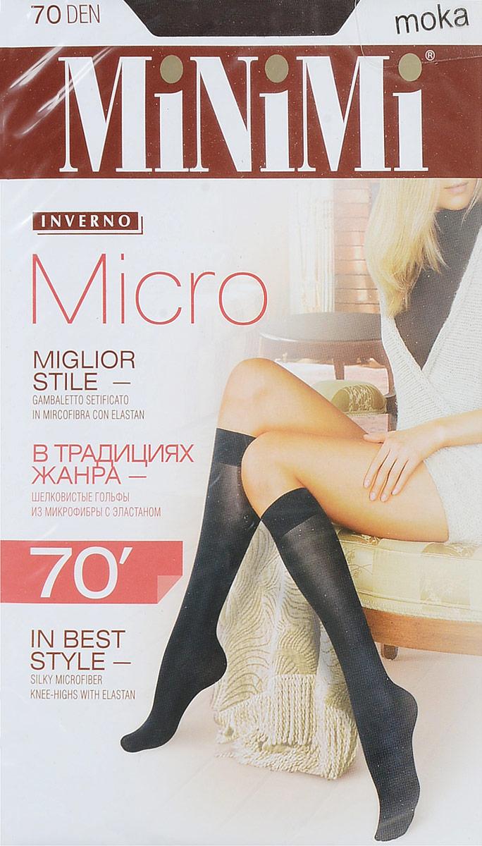 Гольфы жен Minimi Micro 70, цвет: Moka (коричневый). SNL-176937. Размер универсальныйSNL-176937