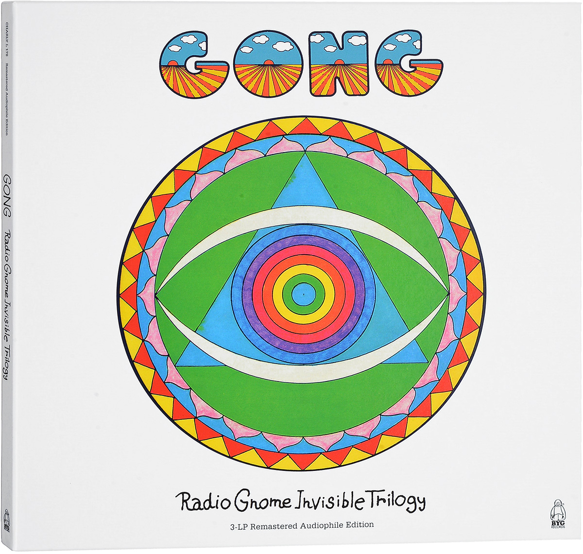 Gong Gong. Radio Gnome Invisible Trilogy (3 LP) кофемолка bork j801