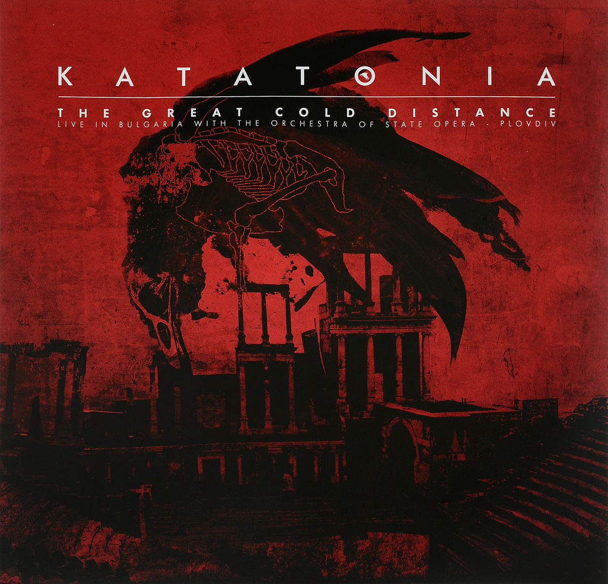 Katatonia Katatonia. The Great Cold Distance. Live In Bulgaria (2 LP) procol harum procol harum live in concert with the edmonton symphony orchesa 2 lp