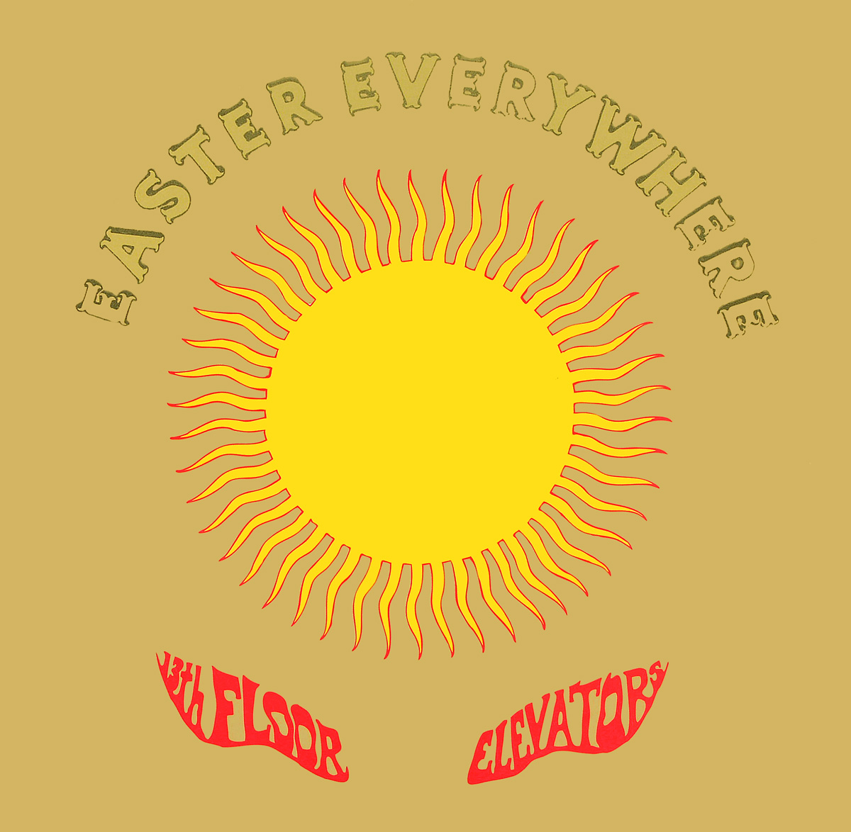 The 13th Floor Elevators 13th Floor Elevators. Easter Everywhere (2 LP) fringe detail sleeve solid tee