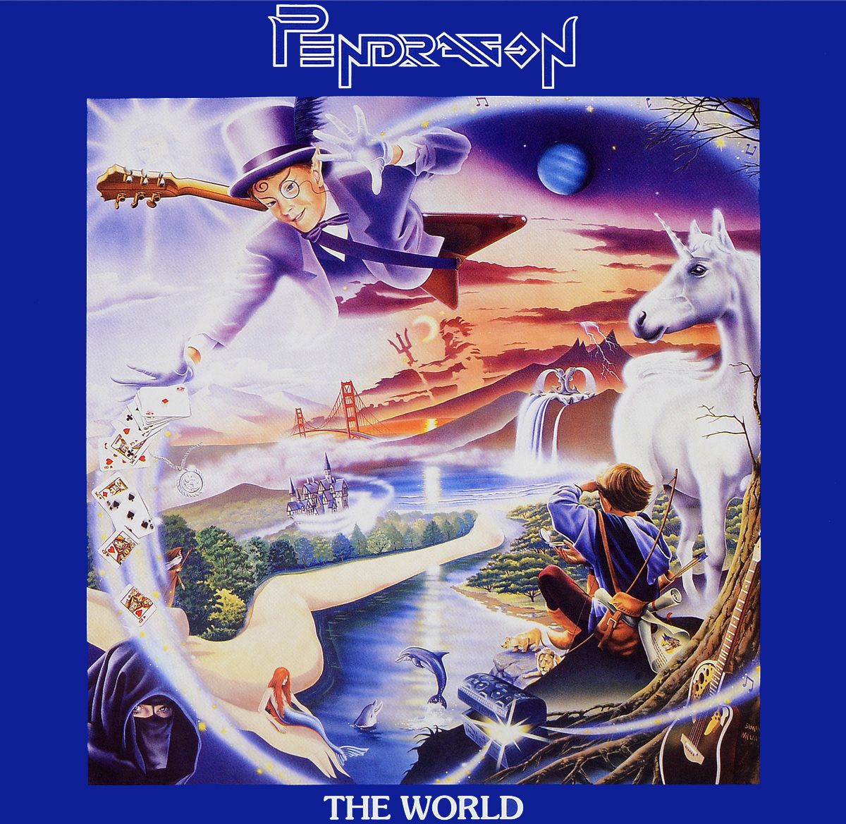 Pendragon Pendragon. The World (2 LP) pendragon pendragon not of this world 2 lp