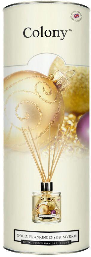 Ароматический диффузор Wax Lyrical Новогодняя карамель, 180 млCH3994Ароматический диффузор в тубе Новогодняя карамель 180 мл. Роскошная чувственная смесь ароматов ванили, мирры, ладана, сливочной помадки и цветущего жасмина. Как пользоваться ароматическим диффузором? Откройте упаковку, достаньте содержимое. Откройте бутылочку, освободите палочки от скотча и вставьте в бутылочку. Интенсивность аромата можно регулировать количеством вставленных палочек. Также для достижения более насыщенного аромата, время от времени переворачивайте палочки и заново вставляйте в бутылочку.