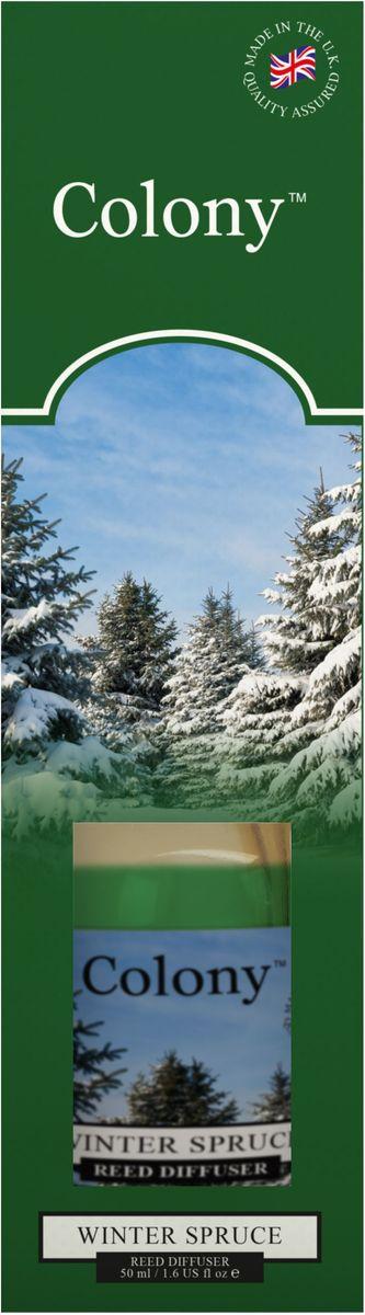 Ароматический мини-диффузор Wax Lyrical Зимняя ель, 50 млCH4177Ароматический мини-диффузор Зимняя ель 50 мл. Свежий древесный аромат с верхними нотами душистой хвои и эвкалипта. Как пользоваться ароматическим диффузором? Откройте упаковку, достаньте содержимое. Откройте бутылочку, освободите палочки от скотча и вставьте в бутылочку. Интенсивность аромата можно регулировать количеством вставленных палочек. Также для достижения более насыщенного аромата, время от времени переворачивайте палочки и заново вставляйте в бутылочку.