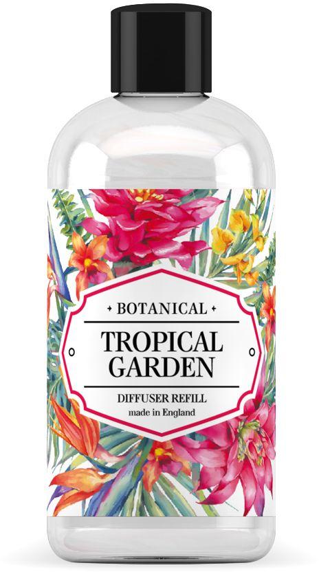 Наполнитель для ароматического диффузора BAGO home Тропический сад, 250 млJV0205-3Наполнитель для ароматического диффузора BAGO home Заповедный сад - прекрасно впишется в любое помещение и наполнит его позитивным настроением! Легкий бриз и вы чувствуете силу ароматов на закате дня. Они настоялись на дневном солнце и с наступлением вечера дарят свою притягательность. Сладковато-смолистые тона агарового дерева уд в окружении цветочных мелодий будят фантазию. Обретите свой заповедный сад - и дайте волю мечтам и грезам! Наполнитель для диффузора (сменный блок) - это дополнительно продающаяся ароматическая жидкость.Объем бутылочки составляет 250 мл.Срок службы зависит от условий использования. Активная вентиляция, сквозняки, постоянно работающий кондиционер, влажность воздуха и перепады температур сокращают его срок службы. При обычных условиях использования наполнитель такого объема прослужит вам около 12-14-ти недель.С наполнителем не забывайте покупать новые тростниковые палочки, помните, что палочки имеют ограниченный срок службы, а их поры имеют свойство забиваться. Всегда, заменяя аромат или доливая тот же аромат из наполнителя, - меняйте палочки на новые, чтобы продолжать наслаждаться любимым ароматом.
