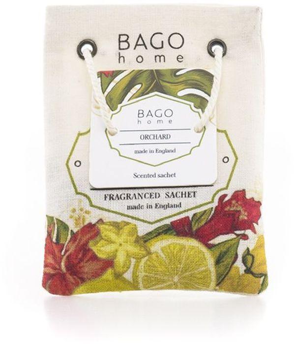 Саше ароматическое BAGO home Фруктовый садJV0403-3Саше BAGO home Фруктовый сад – это цветы и фрукты в вашем доме на столе в любое времягода. Это удивительное сочетание ярких красок лета и весенних ароматов цветов фруктовыхдеревьев. Это сочный вкус спелой брусники и терпкие брызги граната в букете. Это влажныекапли на ветках сливы и вишни. Станьте владельцем фруктового сада, не выходя из дома