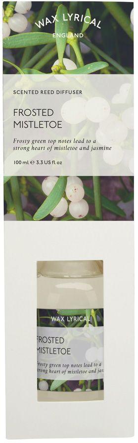 Ароматический диффузор Wax Lyrical Белая омела, 100 млWLP524Ароматический диффузор Белая омела. Объем 100 мл. Как пользоваться ароматическим диффузором? Откройте упаковку, достаньте содержимое. Откройте бутылочку, освободите палочки от скотча и вставьте в бутылочку. Интенсивность аромата можно регулировать количеством вставленных палочек. Также для достижения более насыщенного аромата, время от времени переворачивайте палочки и заново вставляйте в бутылочку.