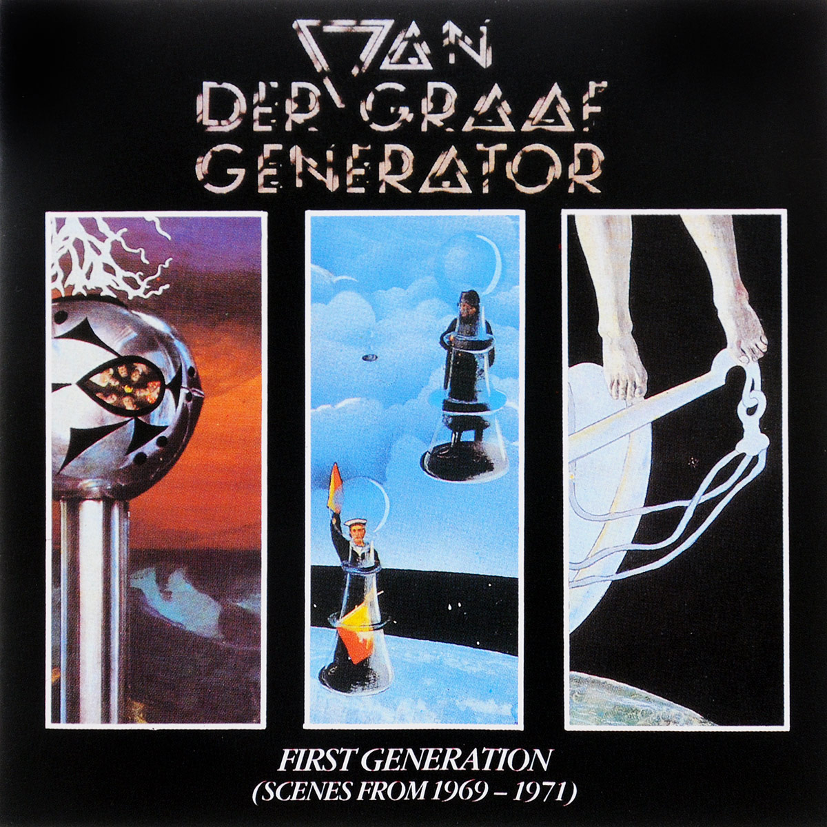 Van Der Graaf Generator Van Der Graaf Generator. First Generation