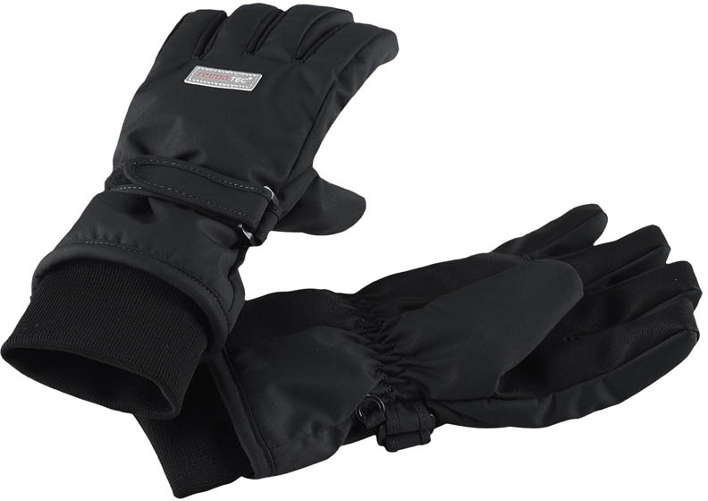 Перчатки детские Reima, цвет: черный. 5272899990. Размер 35272899990