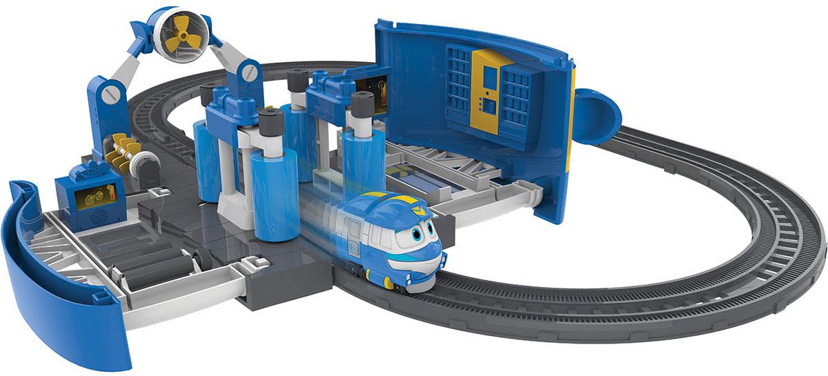 Robot Trains Набор трансформеров Мойка Кея power trains набор с краном 48627