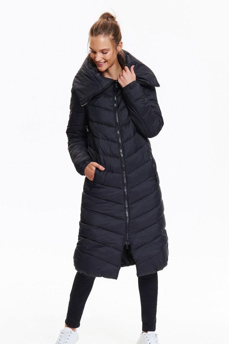 Куртка женская Top Secret, цвет: черный. SKU0792CA. Размер 34 (42)SKU0792CA