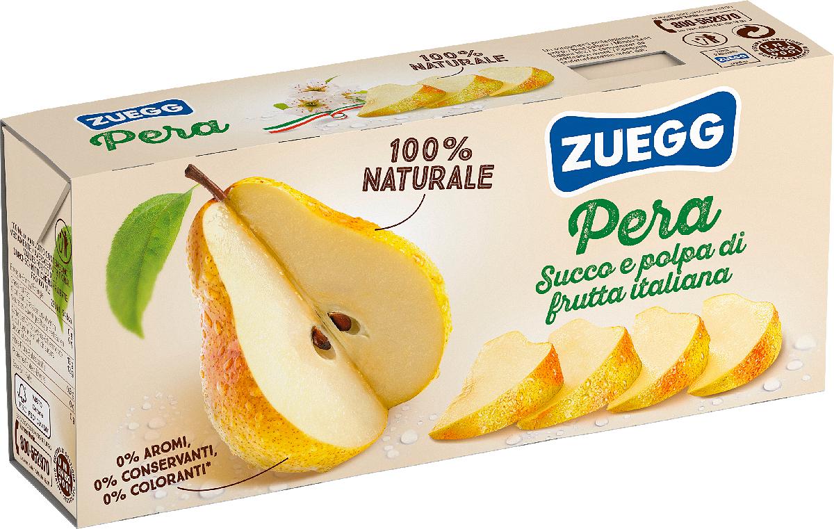 Zuegg Груша нектар, 3 шт по 200 г zuegg груша нектар 0 2 л