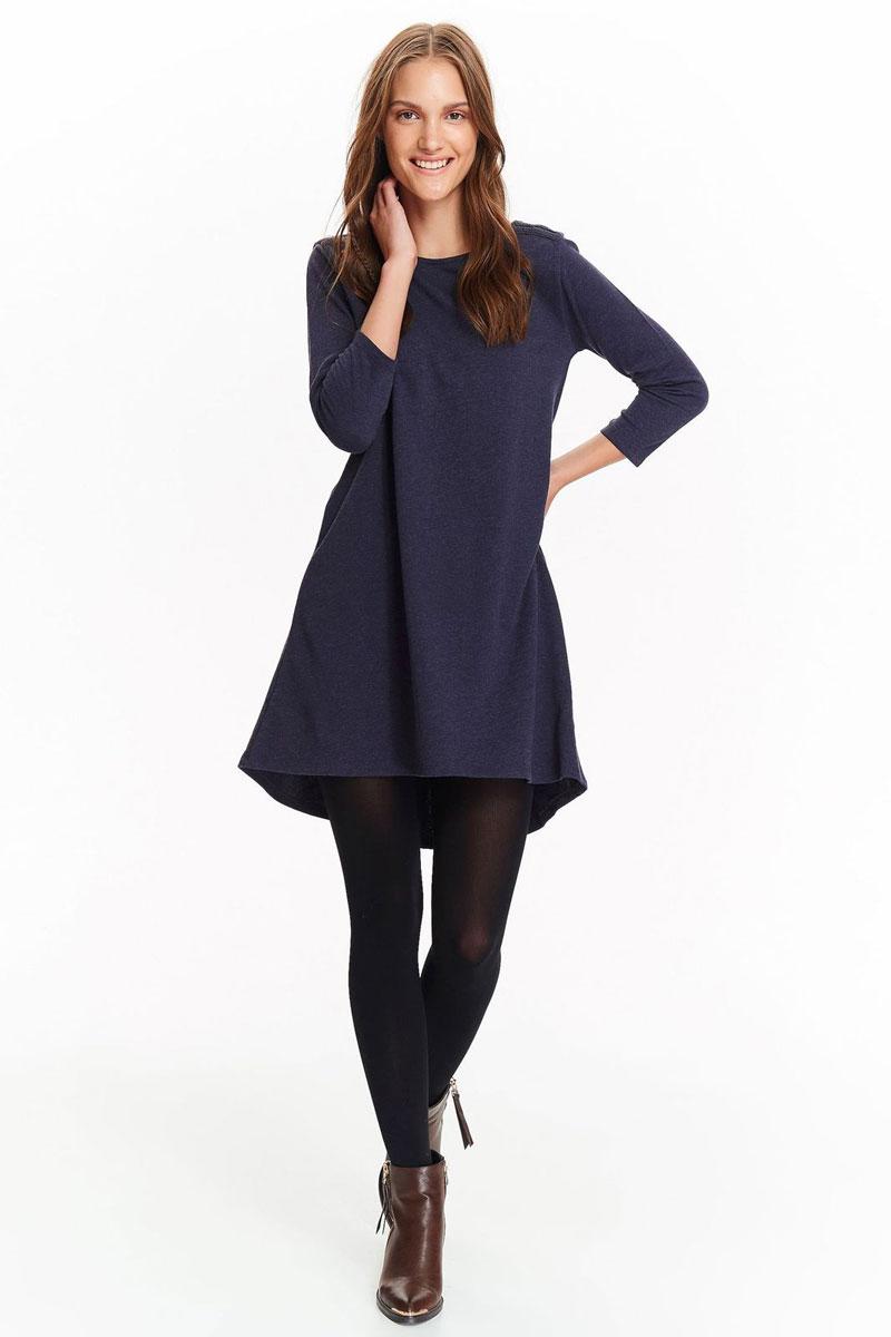 Платье женское Top Secret, цвет: темно-синий. SSU1991GR. Размер 38 (46)SSU1991GR