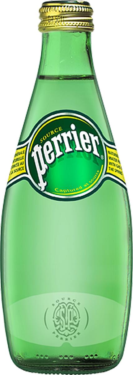 Perrier минеральная газированная вода, 0,33 л perrier вода минеральная газированная гидрокарбонатно кальциевая 0 33 л