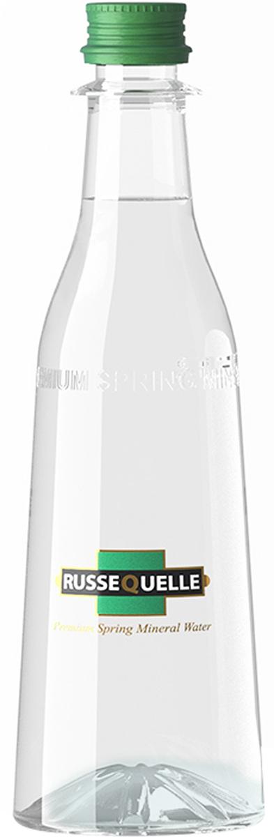 RusseQuelle минеральная родниковая вода негазированная, 0,4 л70504RusseQuelle - это минеральная питьевая столовая вода для ежедневного употребления. Сбалансированный состав воды RusseQuelle, делает её незаменимым спутником активного образа жизни и спортивных тренировок.Воду RusseQuelle можно пить каждый день в больших количествах без риска повышения уровня солей и минералов.