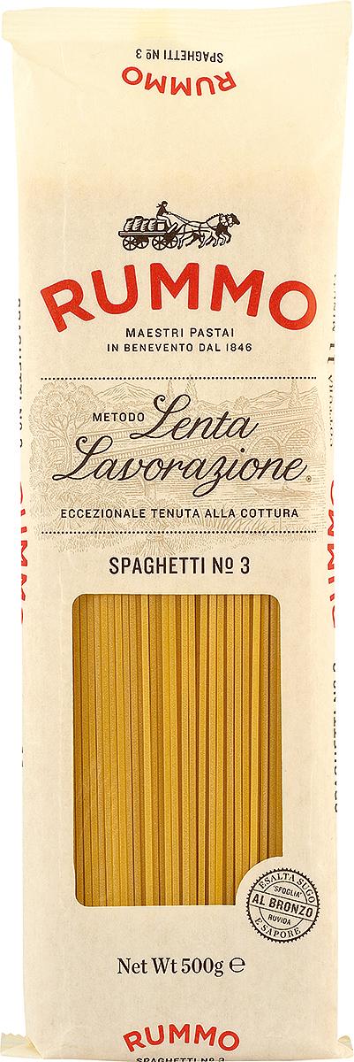 Rummo Спагетти № 3, 500 г barilla spaghetti паста спагетти 500 г