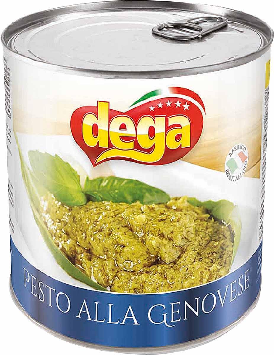 Dega Соус Песто по-генуэзски базиликовый, 800 г эксмо от пиццы до песто