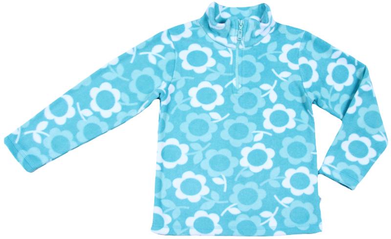 Джемпер для девочки Cherubino, цвет: бирюзовый. CWK 61650. Размер 122 брюки для девочки cherubino цвет коралловый ck 7t068 154 размер 122