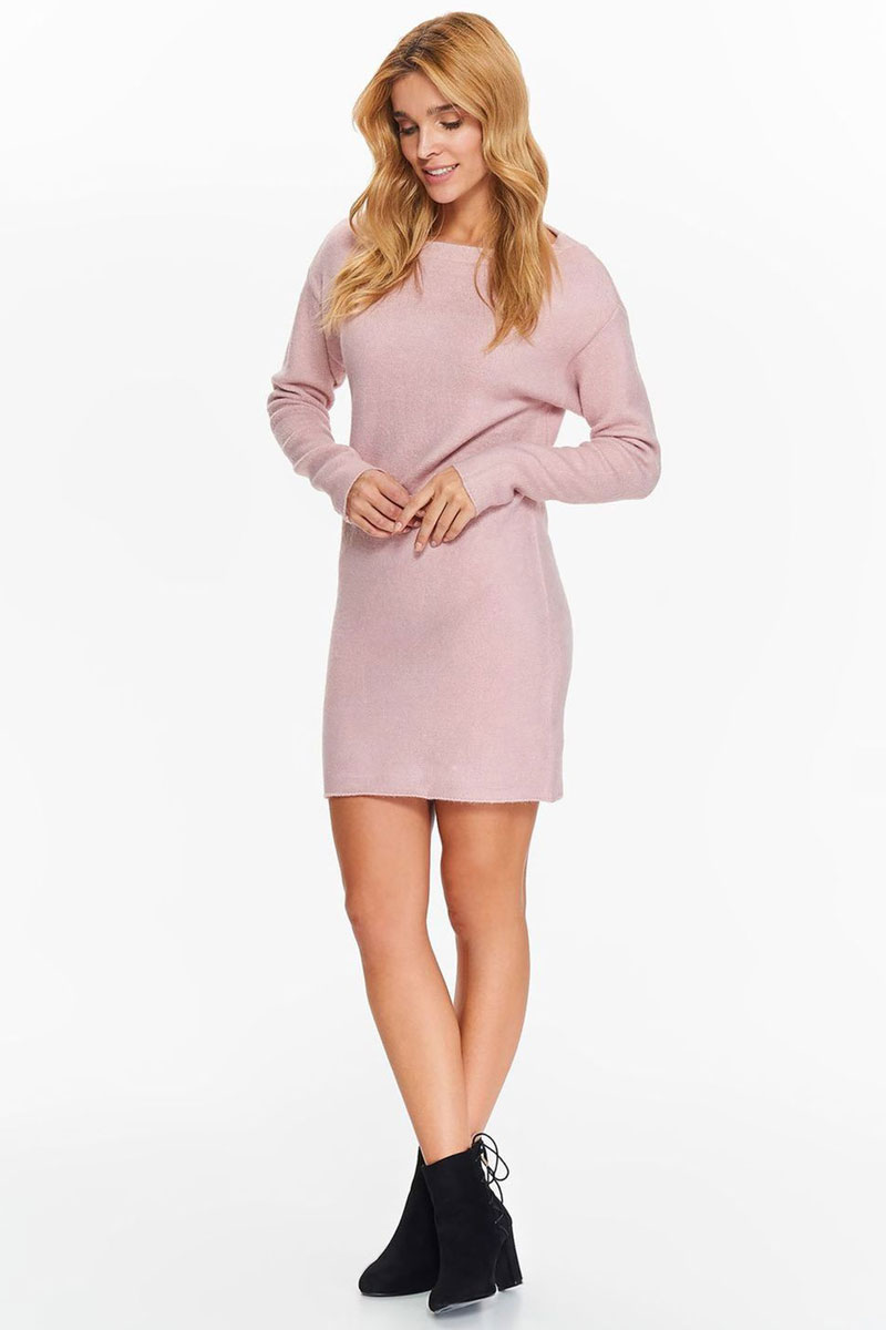 Туника женская Top Secret, цвет: светло-розовый. STU0143JR. Размер 40 (48)STU0143JR