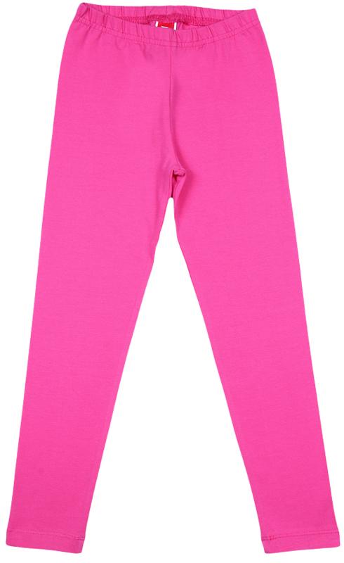 Леггинсы для девочки Cherubino, цвет: розовый. CWK 7615 (160). Размер 110CWK 7615 (160)Леггинсы для девочки Cherubino выполнены из хлопкового трикотажа с эластаном. Модель прямого кроя, на поясе предусмотрена эластичная резинка.