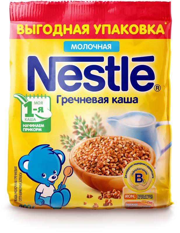 Nestle гречневая каша молочная, 200 г -  Детское питание