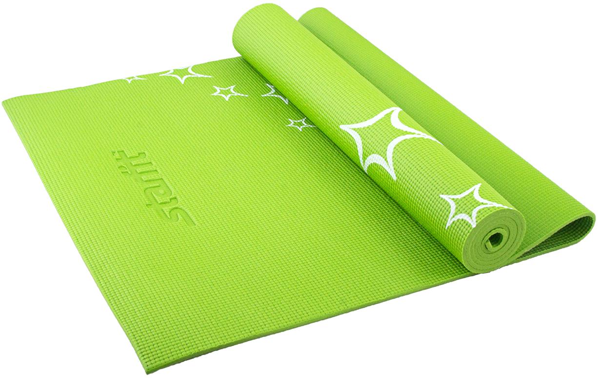 Коврик для йоги Starfit FM-102, цвет: зеленый, 173 х 61 х 0,6 смУТ-00007238Коврик для йоги Star Fit FM-102 - это незаменимый аксессуар для любого спортсмена как во время тренировки, так и во время пре-стретчинга (растяжки до тренировки) и стретчинга (растяжки после тренировки). Выполнен из высококачественного ПВХ и оформлен оригинальным рисунком в виде цветов. Коврик используется в фитнесе, йоге, функциональном тренинге. Его используют спортсмены различных видов спорта в своем тренировочном процессе.Предпочтительно использовать без обуви. Если в обуви, то с мягкой подошвой, чтобы избежать разрыва поверхности коврика.Йога: все, что нужно начинающим и опытным практикам. Статья OZON Гид
