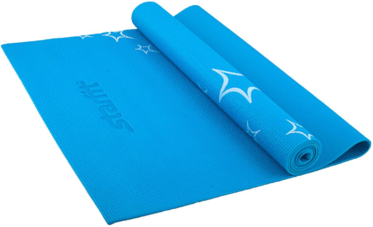 Коврик для йоги Starfit FM-102, цвет: синий, 173 х 61 х 0,5 смУТ-00007242Коврик для йоги Star Fit FM-102 - это незаменимый аксессуар для любого спортсмена как во время тренировки, так и во время пре-стретчинга (растяжки до тренировки) и стретчинга (растяжки после тренировки). Выполнен из высококачественного ПВХ и оформлен оригинальным рисунком в виде цветов. Коврик используется в фитнесе, йоге, функциональном тренинге. Его используют спортсмены различных видов спорта в своем тренировочном процессе.Предпочтительно использовать без обуви. Если в обуви, то с мягкой подошвой, чтобы избежать разрыва поверхности коврика.Йога: все, что нужно начинающим и опытным практикам. Статья OZON Гид