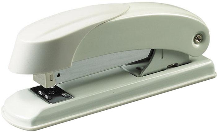 Laco Степлер Н400 скоба №24/6-№26/6 на 30 листов цвет светло-серый2630107Классический металлический степлер. Загрузка до 100 скоб №24/6, №26/6. Открытое и закрытое скрепление. Глубина закладки бумаги - 64 мм.Толщина сшивания 30 листов, скоба №24/6. Цвет - светло-серый