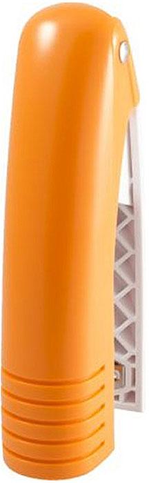 Laco Степлер SН486 скоба №24/6 на 20 листов цвет оранжевый2631324Степлер с ручкой из мягкой резины. Возможность хранения на столе как в вертикальном, так и в горизонтальном положении. Загрузка до 100 скоб №24/6, №26/6. Глубина закладки бумаги - 59 мм. Тощина сшивания - 20 листов, скоба №24/6. Цвет - оранжевый