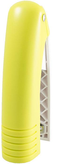 Laco Степлер SН486 скоба №24/6 на 20 листов цвет желтый2631325Степлер с ручкой из мягкой резины. Возможность хранения на столе как в вертикальном, так и в горизонтальном положении. Загрузка до 100 скоб №24/6, №26/6. Глубина закладки бумаги - 59 мм. Толщина сшивания - 20 листов, скоба №24/6.
