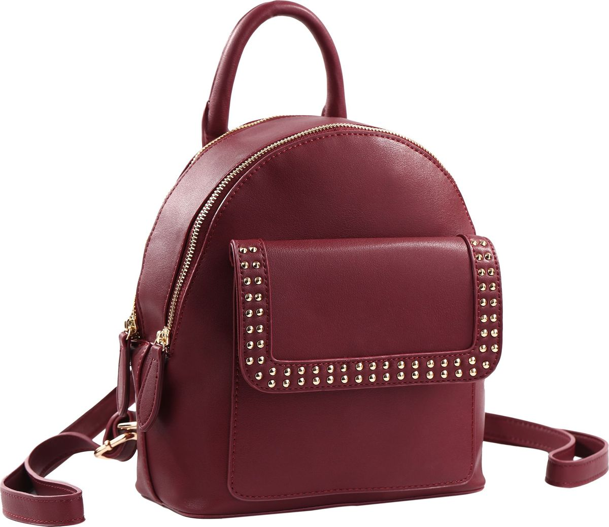 Рюкзак женский Pola, цвет: бордовый. 78331
