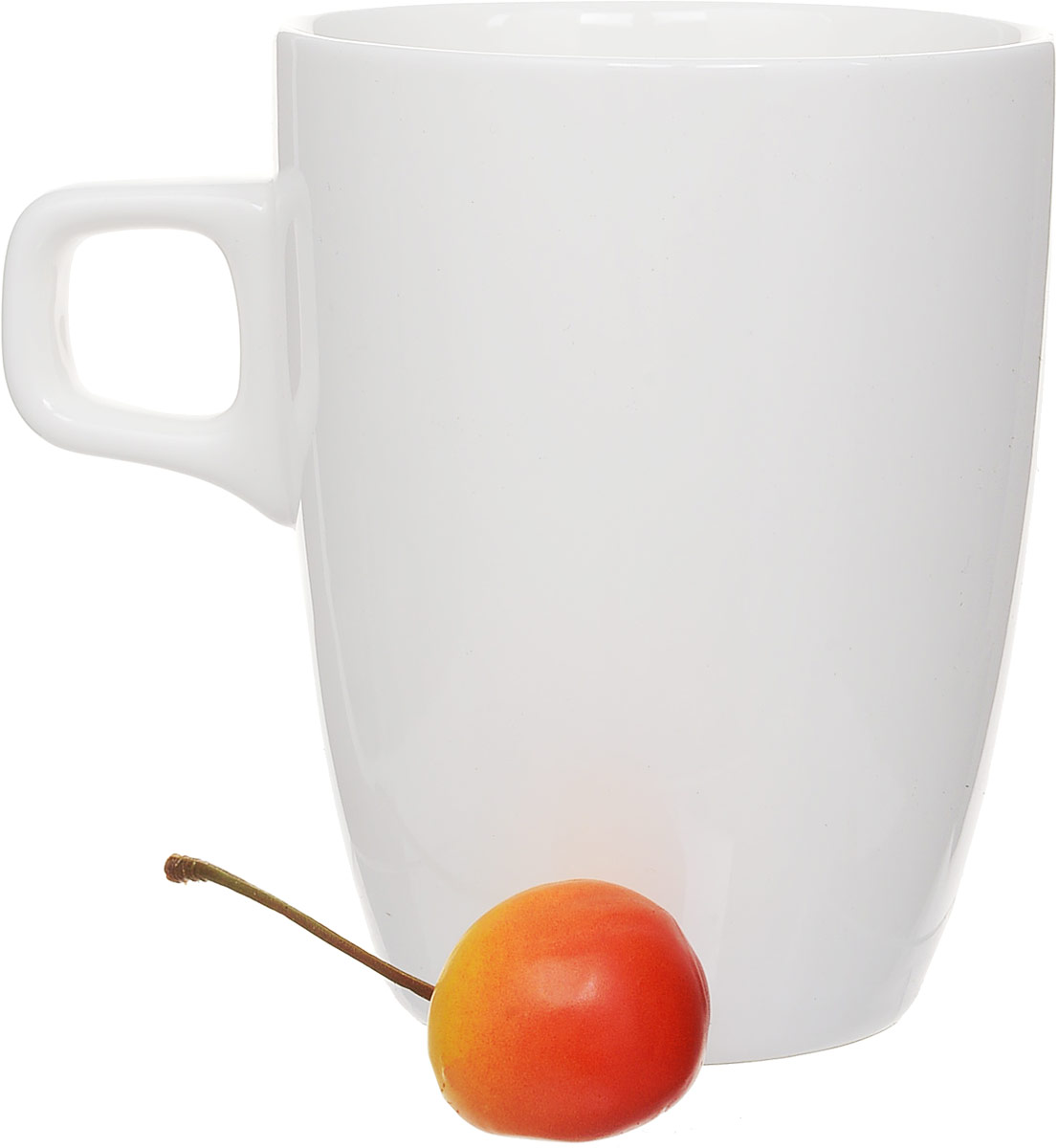 """Штабелируемая кружка """"Wilmax"""", выполненная из  высококачественного фарфора, оснащена удобной ручкой.  Такая кружка впишется в любой интерьер современной  кухни, а также станет отличным дополнением к сервировке  праздничного или обеденного стола.  Диаметр кружки (по верхнему краю): 8 см."""