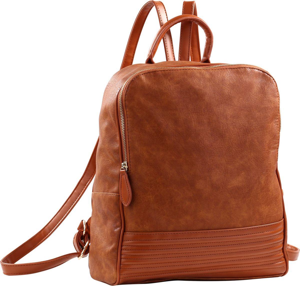 Рюкзак женский Pola, цвет: коричневый. 78322