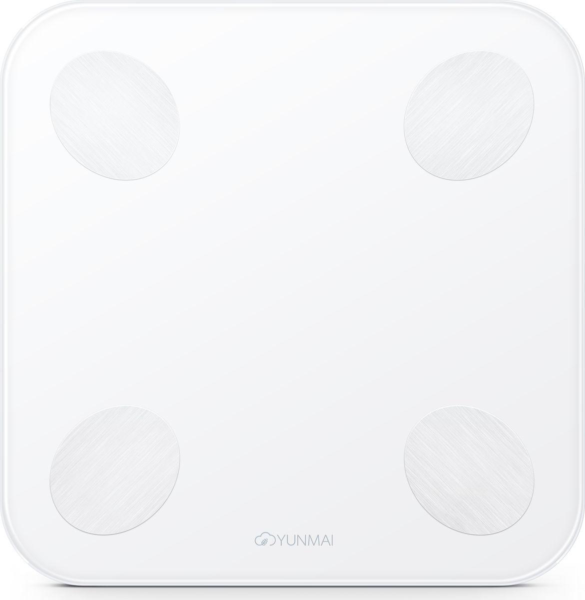 Yunmai Balance, White весы напольныеM1690Компания Yunmai является лидером рынка умных весов в США и активноразвивается на европейском, африканском и азиатском рынках.КомпанияYunmai фокусируется на создании интеллектуальных устройств в рамках заботы оздоровье для домашнего использования. Yunmai использует накопленные знанияв области интеллектуальных инноваций и успешно интегрирует их в своепроизводство.Умные весы Yunmai не только точно измеряют вес, но такжеприменяют метод биоэлектрического сопротивления (BIA) для измерения ИМТ,мышечной массы, массы костей, воды, обмена веществ, возраста тела,висцерального жира, белка и так далее. Анализ показателей помогает понятьобщее состояние организма и помогает в организации диеты и образа жизни.Yunmai – это умная забота о здоровье для каждого. Yunmai Balance -компактный размер, высокоточные сенсоры и запоминающаяся внешность всочетании с измерением важных показателей организма делают эти весыоптимальным выбором для любого покупателя.