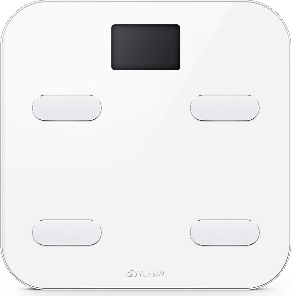 Yunmai Color, White весы напольные - Напольные весы