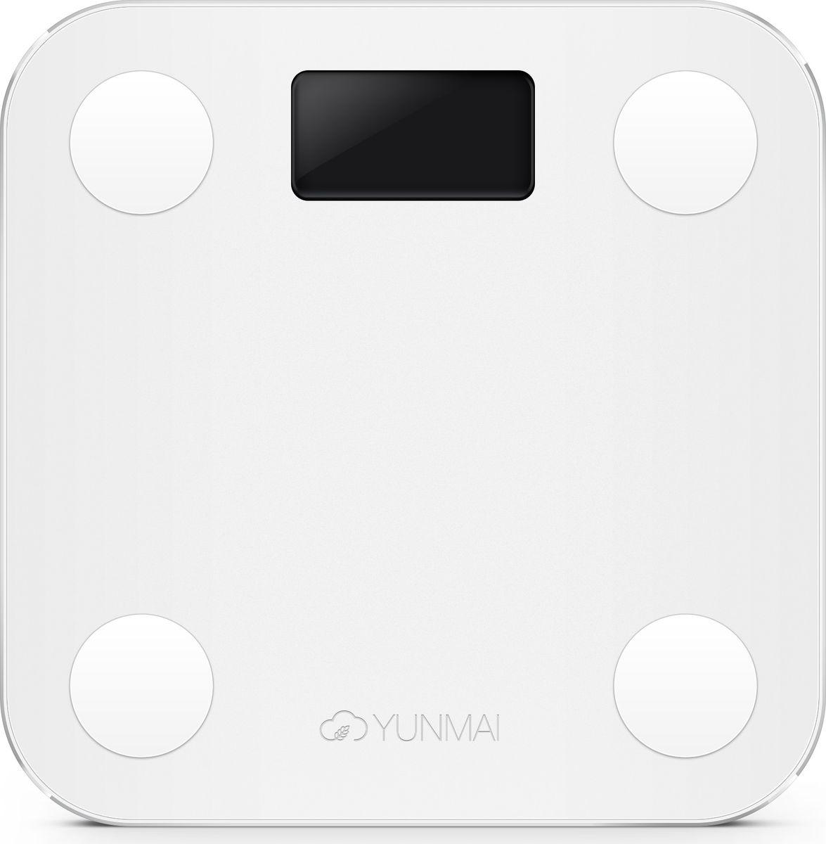 Yunmai Mini, White весы напольные - Напольные весы