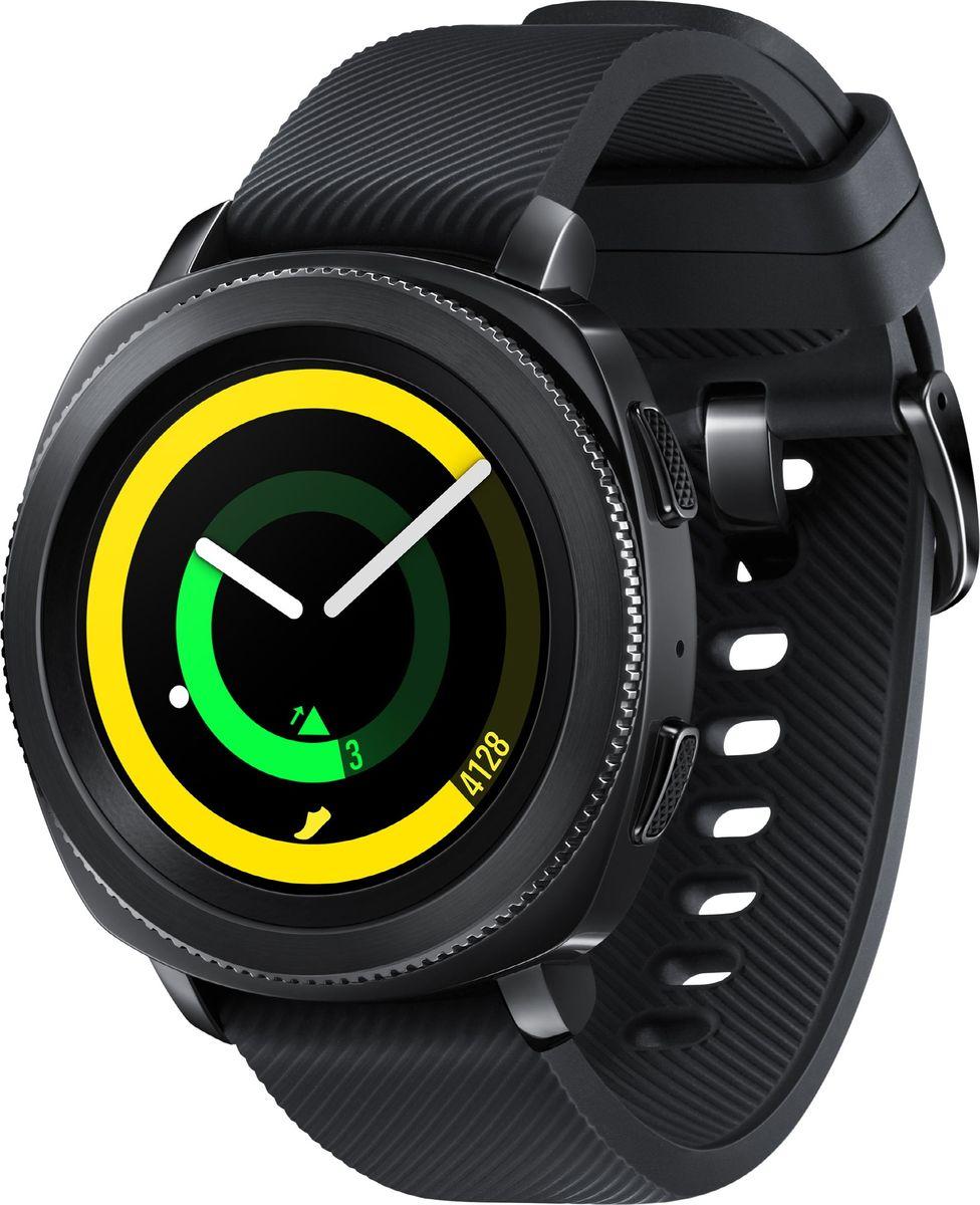 Samsung Gear Sport, Black смарт-часы - Умные часы