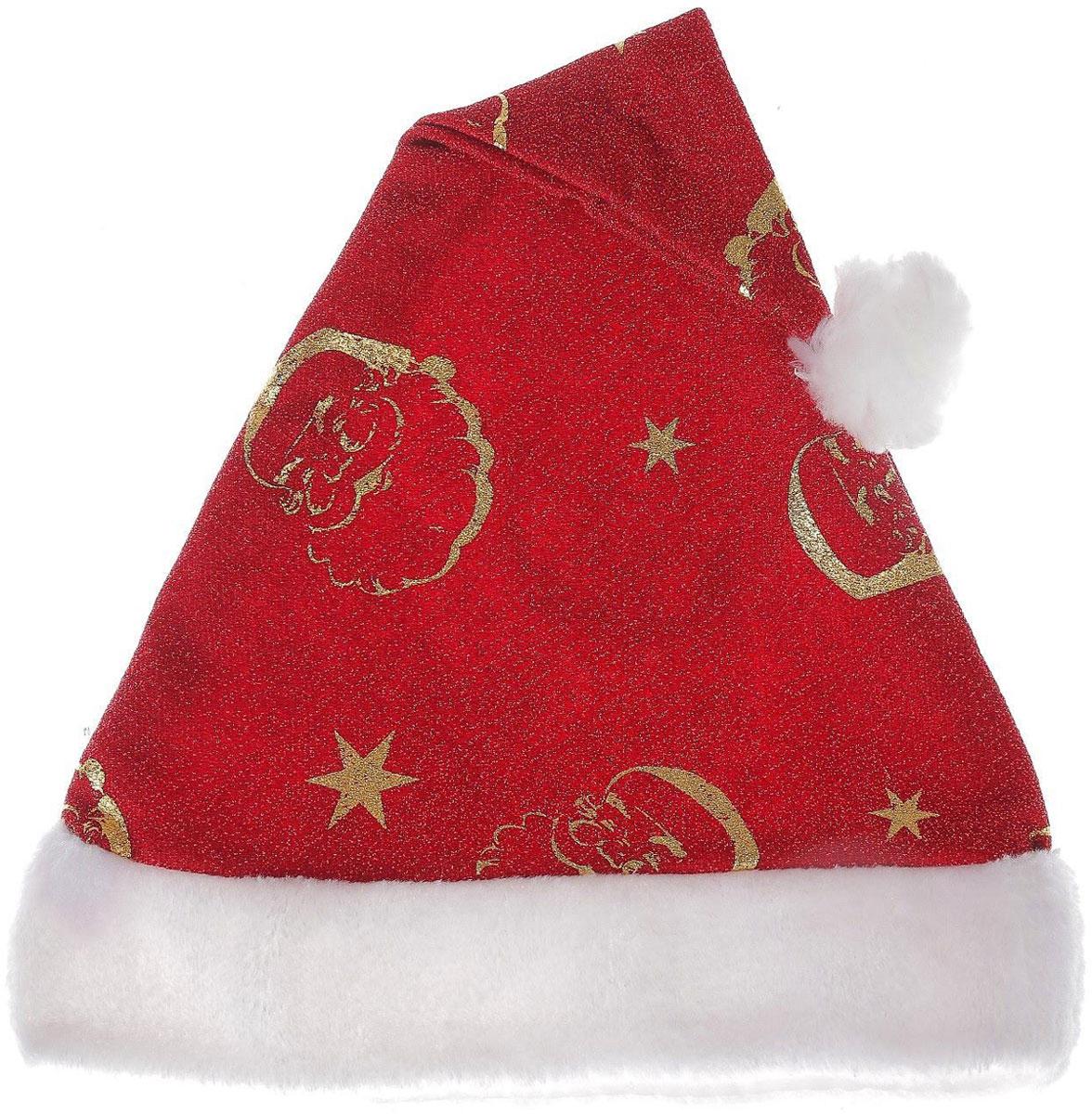 Колпак новогодний Искринка. Дед Мороз, 28 х 40 см2363891Невозможно представить нашу жизнь без праздников! Мы всегда ждем их и предвкушаем, обдумываем, как проведем памятный день, тщательно выбираем подарки и аксессуары, ведь именно они создают и поддерживают торжественный настрой. Это отличный выбор, который привнесет атмосферу праздника в ваш дом!