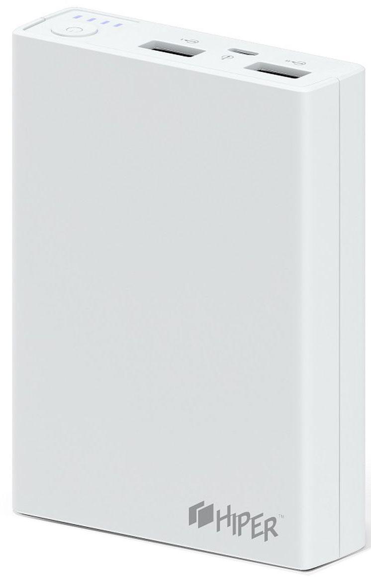 HIPER RP8500, White внешний аккумулятор (8500 мАч)