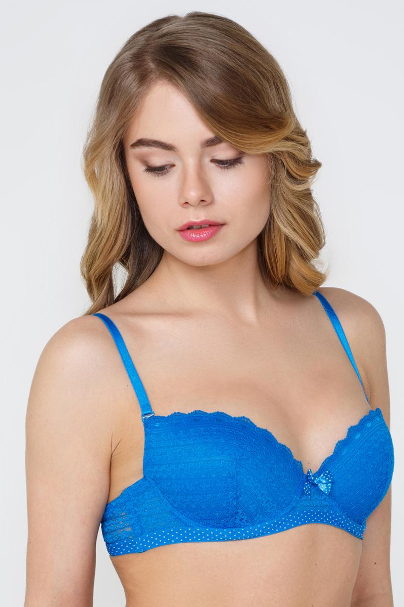 Бюстгальтер Infinity Lingerie Feya, цвет: синий. 262310_500. Размер 70C infinity lingerie бюстгальтер t shirt цвет белый размер 70a 168210