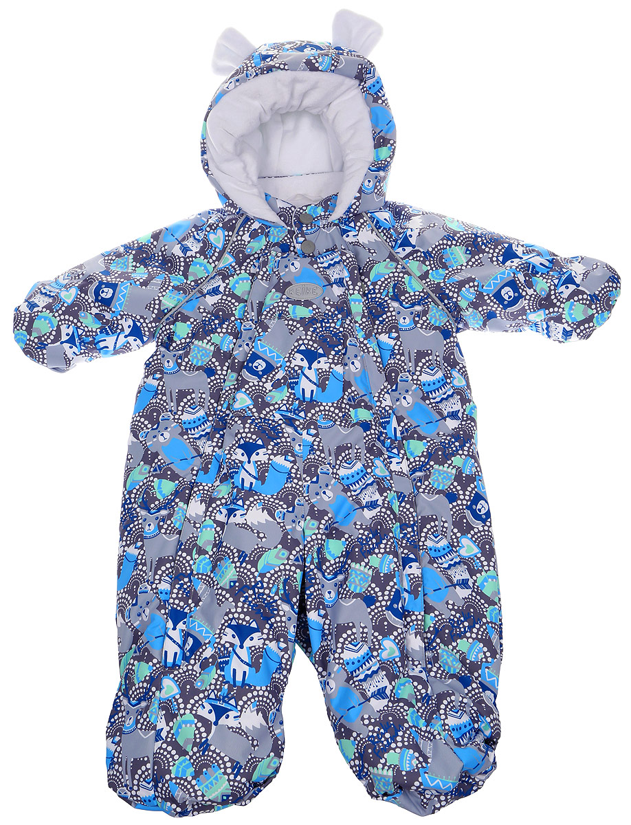 Комбинезон детский Reike, цвет: серый. 3941113_IFC grey. Размер 683941113_IFC grey
